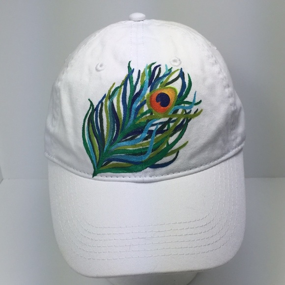 63d50480ba0 Authentic Pigment Ball Cap with Peacock Feather